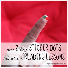 Having a definite stop/start point for reading lessons helped that 'overwhelmed' feeling.