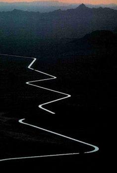 Pocas veces los caminos son rectos