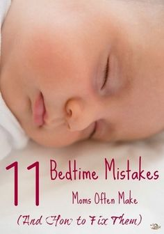 Whoa, can you believe #6?! 11 Mistakes Moms Make When They're Putting Baby to Bed http://thestir.cafemom.com/baby/168768/11_mistakes_moms_make_when?utm_medium=sm&utm_source=pinterest&utm_content=thestir&newsletter