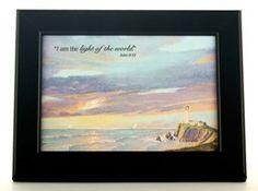 """""""Lighthouse"""" framed print by Joni Eareckson Tada"""