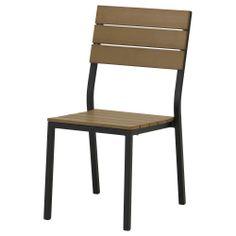 FALSTER Chair - black/brown - IKEA $50