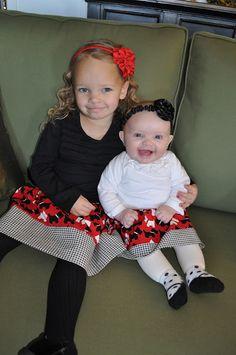 The Little Fabric Blog: Easy Toddler Skirt Tutorial