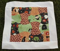 @Brooke Johnsen puts the AccuGo! cutter to good use with this fantastically adorable Halloween quilt pattern. Piece together apple core quilt pieces to make Halloween quilt patterns that make great decorative quilted gifts.
