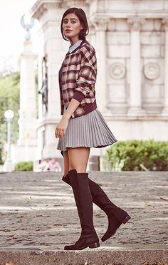Smart is sexy. #preppy #college preppi colleg, street style