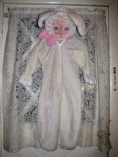Rabbit Costume Size 6X Children's Easter Rabbit by TheIDconnection, $38.00