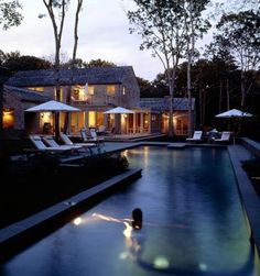 Outdoor Pool from Billinkoff Architecture, Remodelista