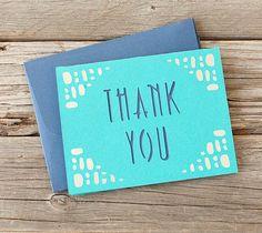 DIY Thank You Card. Make It Now in Cricut Design Space
