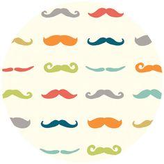 Fabricworm!  Jay-Cyn Designs for Birch Organic Fabrics, Just For Fun, Staches Multi