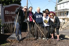 "Greek Life is among the more than 1,700 students sprawled across Bloomsburg each spring for a massive cleaning campaign. CGA's The Big Event features teams of students who take the opportunity and say, ""Thank you"" to Bloomsburg area residents by completing various tasks, such as raking leaves, weeding, painting, etc. at homes, churches and businesses. #BUGreekLife"