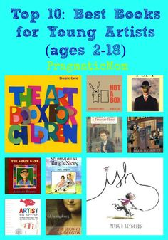 Top 10:  Best Books for Young Artists (ages 2-18) :: PragmaticMom