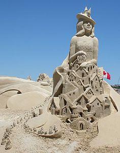 Sand Castle Competition  Virginia Beach