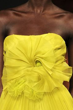 fashion-details:    Christian Siriano - Spring 2012