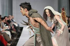 Macbeth witches on the move!  Designer: Cara Delport  Photo: SDR photo