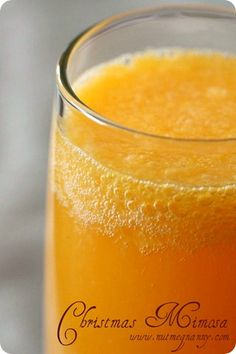 Christmas Mimosa. I will definitely have one! :)