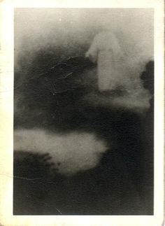 Apparition of Christ by Renee Taylor's great grandmother who took the photo on a plane in the late 1970's.