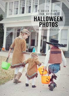 5 quick tips for taking better Halloween photos. #halloween #phototips #photography