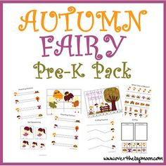 Autumn Fairy Pre-K Pack