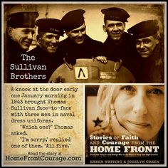 In honor of Memorial Day, read the story of the five Sullivan brothers--and those they left behind.