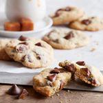 NESTLÉ® TOLL HOUSE® Caramel Filled DelightFulls™ Chocolate Chip Cookies Recipe   MyRecipes.com