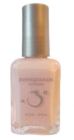 Pomegranate Nail Lacquer — Dreamscape - pale pink nail polish