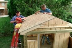 outdoor playhouse diy