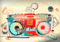 Boombox Art...