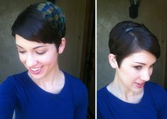 great post about maintaining and styling a pixie cut.