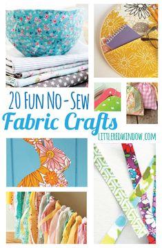 fun nosew, fun stuff, sewing scraps, no sew projects, no sew fabric bowl, 20 fun, no sew fabric crafts, nosew fabric, rainy day crafts