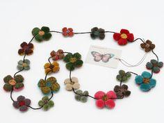 crochet flowers, crafti crochet, crochet garland, diy gift, crochet necklace