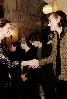 Duchess meets Harry Styles