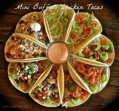 mini buffalo chicken tacos 2