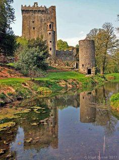 Blarney Castle - Cork  Have you kissed the Blarney Stone? #Ireland