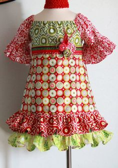 a very cute Christmas dress for the girls?