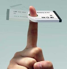 Generating Mobile Energy With The Swing Of A Finger