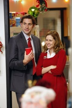 Jim and Pam Halpert