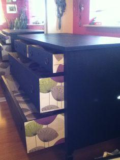 My own decoupaged dresser! <3