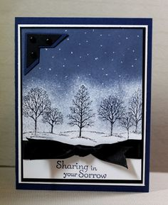 Stampin' Up!, Lovely as a Tree, Sympathy