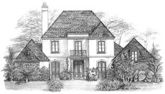 French Country House Plan with 3451 Square Feet and 5 Bedrooms(s) from Dream Home Source