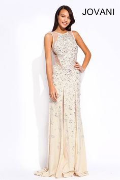 Embellished Jovani Prom dress