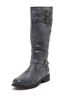 Bucco Knee-High Boot