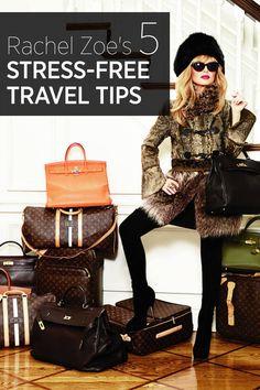 Rachel Zoe shares her travel tips and secrets—