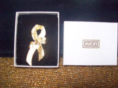 Avon Pin with Box 1960s by vintagecitypast on Etsy, $8.00