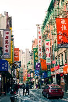 NYC ~ Chinatown