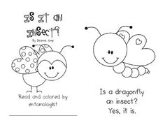 FREEBIE!!!  Is It an Insect? Emergent Reader.  The repetitive text and high level of picture support makes it easy for your little entomologists to read.For your sweeties who are already readi...Pre-K, Kindergarten, First Grade