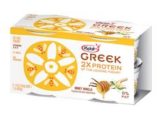 Yoplait Honey Vanilla Greek