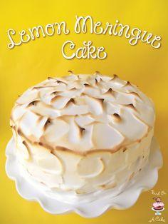Lemon Meringue Cake {Bird On A Cake}