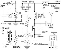 60W Linear amplifier - circuit diagrams, schematics, electronic projects