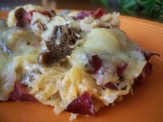 Reuben Casserole from Food.com: If you like Reuben Sandwiches, you'll love this!!