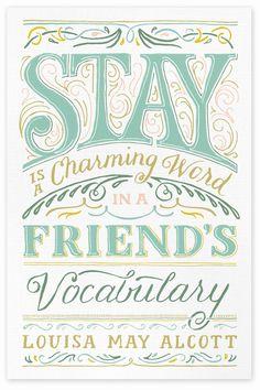 STAY PRINT - Becca Clason - Lettering & Graphic Design