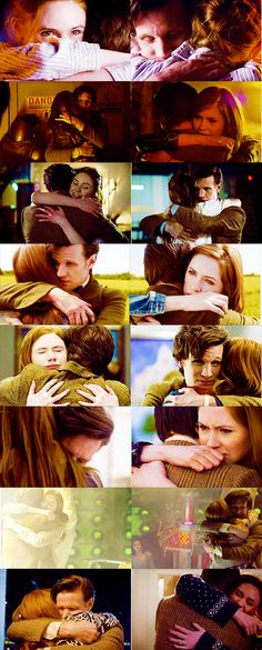 It's a show about time and space. It's also a show about running and hugging. So much hugging! #DoctorWho